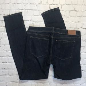 H&M super squin skinny jeans sz 34